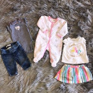 Baby Girl Lot | 5 Pieces